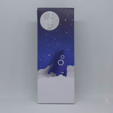 To the Moon - hoog tasje Galaxy Blue