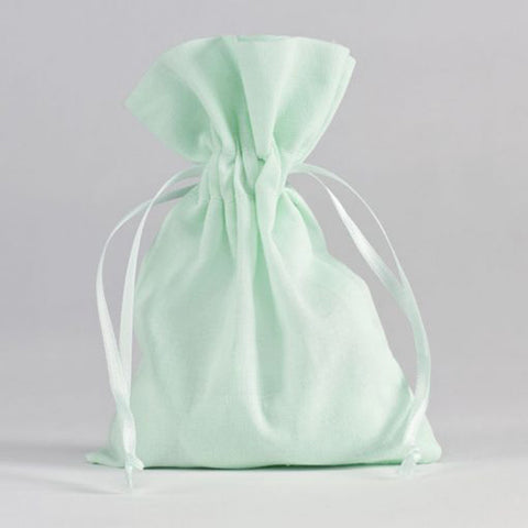 Cotton Flatbag - mint