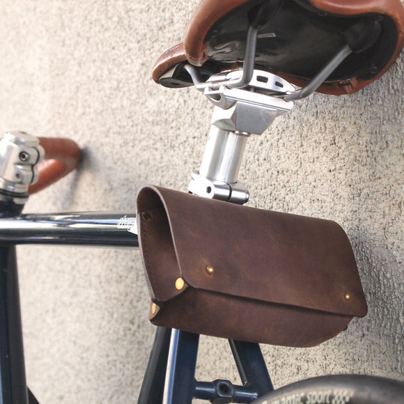 Leather Bike Tool Bag