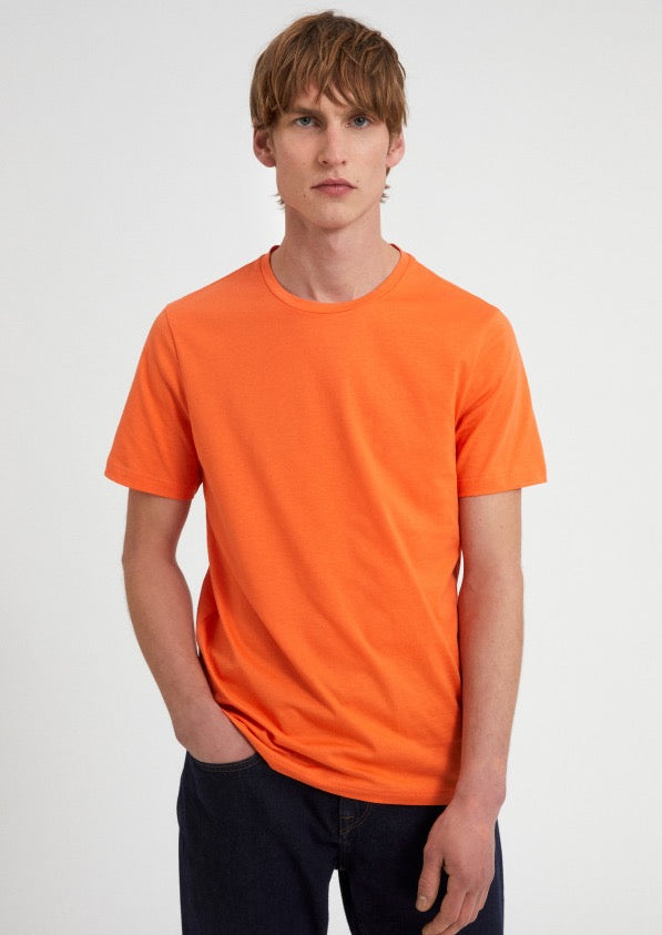 T-Shirt JAAMES in splash orange von ARMEDANGELS