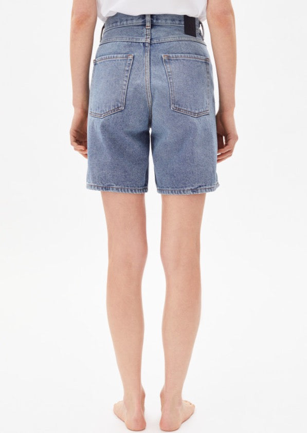 Denim Shorts FREYMAA in medium washed von ARMEDANGELS