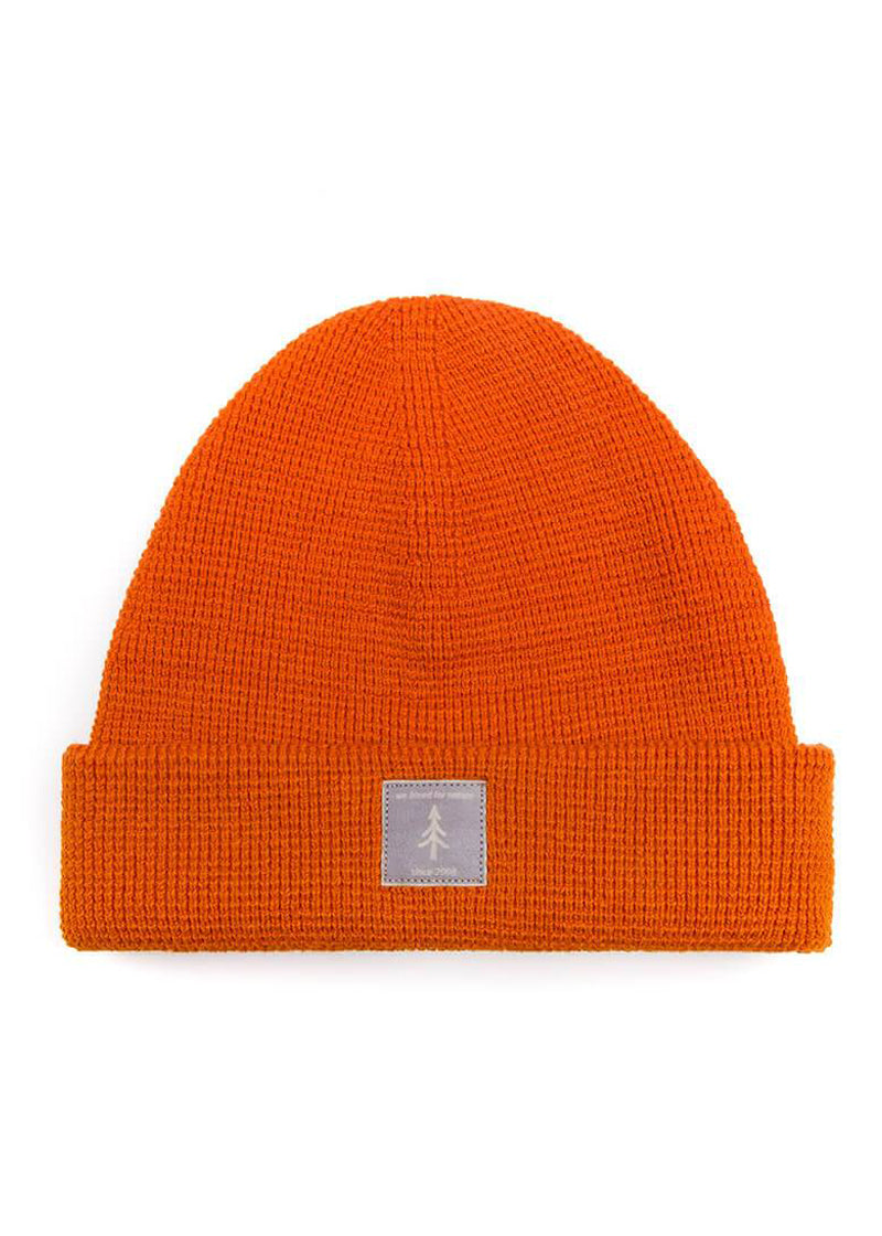 Bleed organic lightknit Beanie orange