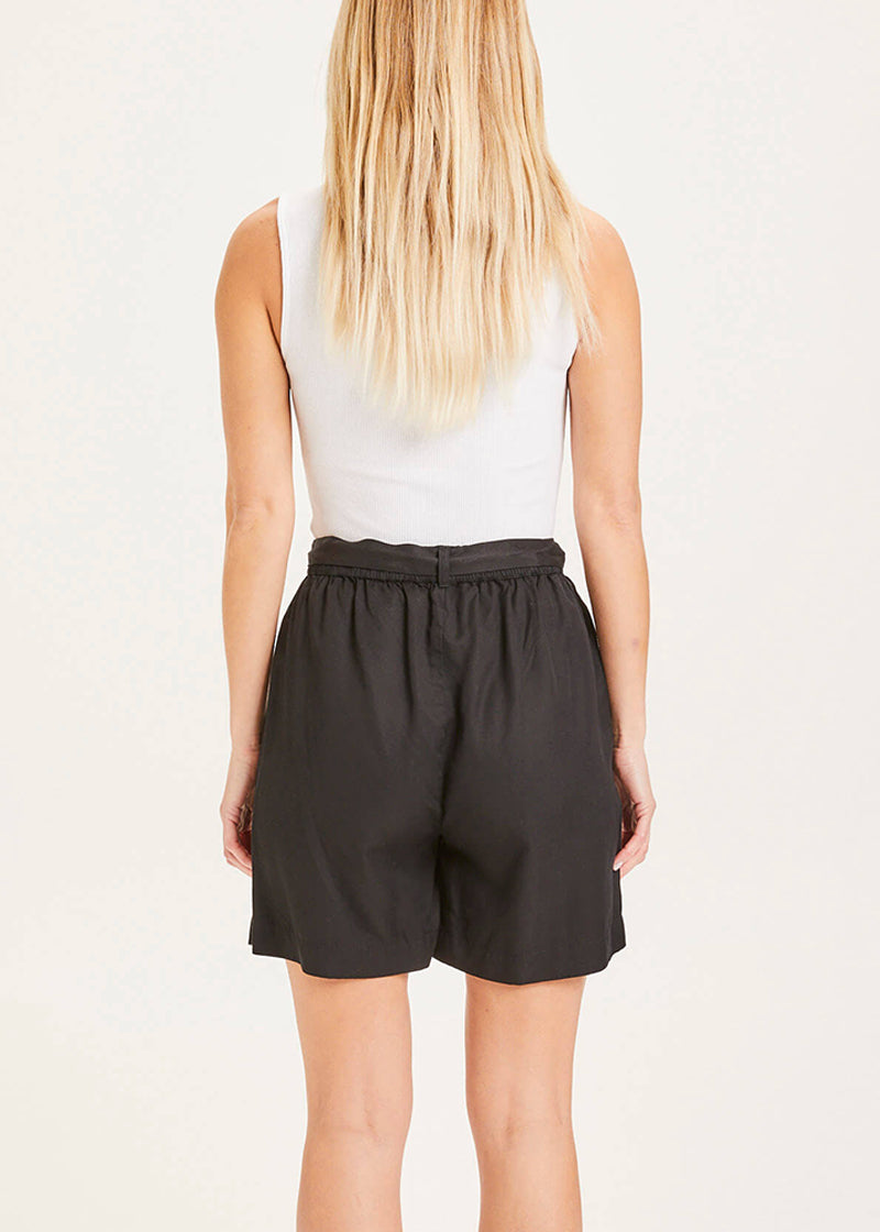 Knowledge Paper Bag Shorts black