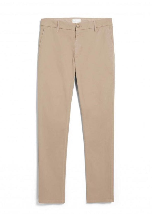 Chino AATO SLIM in light beige von ARMEDANGELS