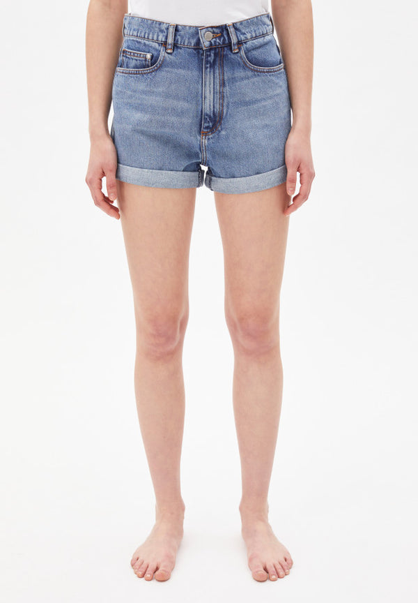 Shorts SILVAA in faded blue von ARMEDANGELS