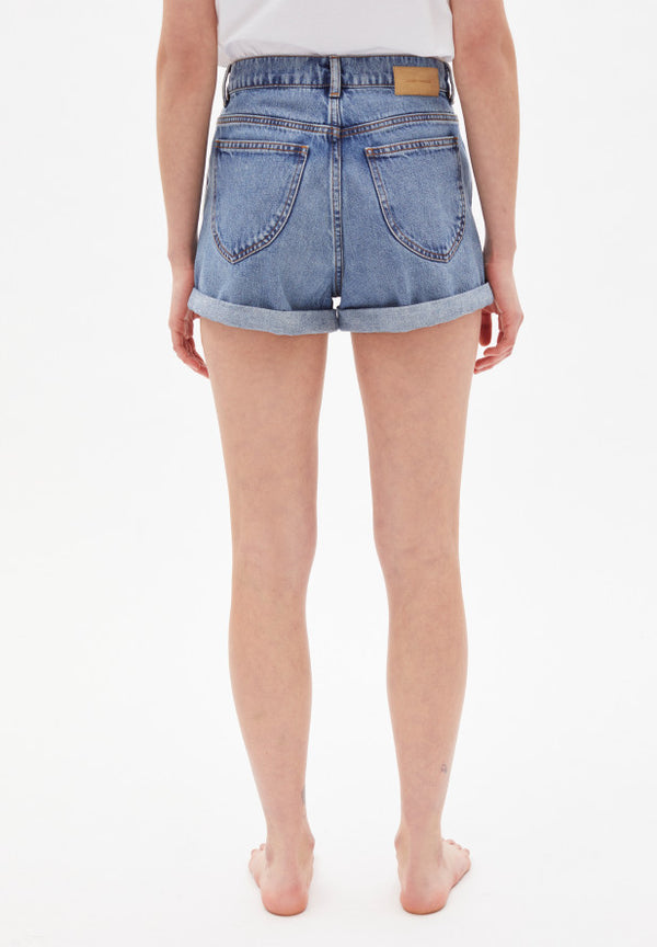 Shorts SILVAA in denim blue von ARMEDANGELS