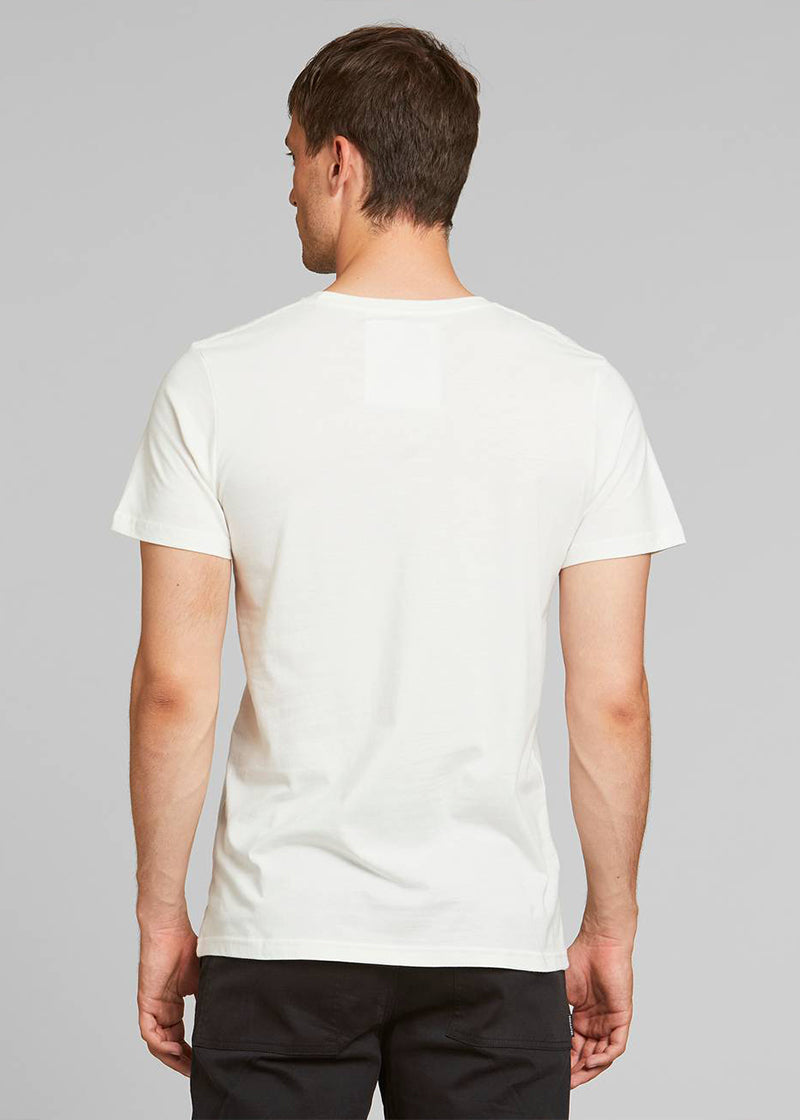 T-Shirt STOCKHOLM TO THE ROOTS in off-white von Dedicated