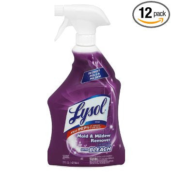 Lysol Mildew Remover with Bleach Trigger, 32 Ounce - Fresh Colony