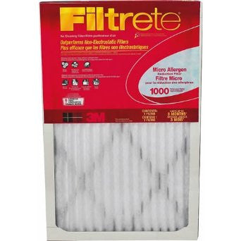 3M Filtrete Air Conditioner Filter, 15-Inch by 24-Inch (9808-12) - Fresh Colony