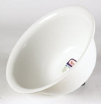 Sterilite Corp Bowl 6Qt Plstc White 7118012 - Fresh Colony