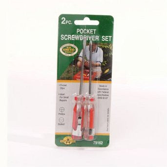 Pocket Screwdriver 2 Pc Set - Fresh Colony