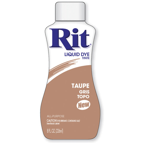 Rit Dye Liquid Fabric Dye, 8-Ounce, Taupe - Fresh Colony