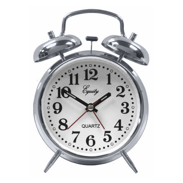 Equity by La Crosse Analog Twin Bell Alarm Clock - Fresh Colony