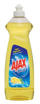 Ajax Lemon Scent Dishwashing Liquid 16 oz - Fresh Colony