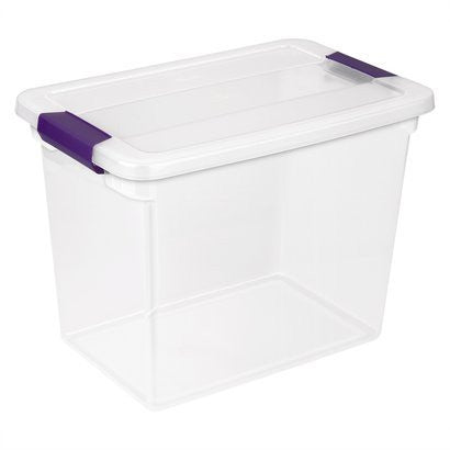 Clear-View Storage Containers-27 Quart - Fresh Colony