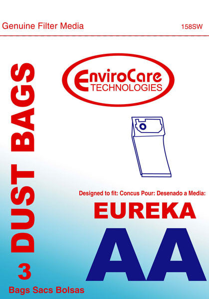 3PK Eureka AA Vac Bag - Fresh Colony