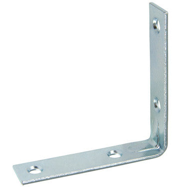 "4 Pack Corner Brace ""L"" Heavy Duty, Choose From Sizes: 1'', 1-1/2'', 2'', 2-1/2'', 3'', 4'', (2 1/2 inch) - Fresh Colony"