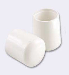 "Hi Vinyl Leg Tip (Set of 4) Size: 0.75"" - Fresh Colony"