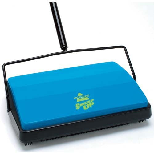 Bissell Sweep-Up Cordless Sweeper model 21012, blue - Fresh Colony