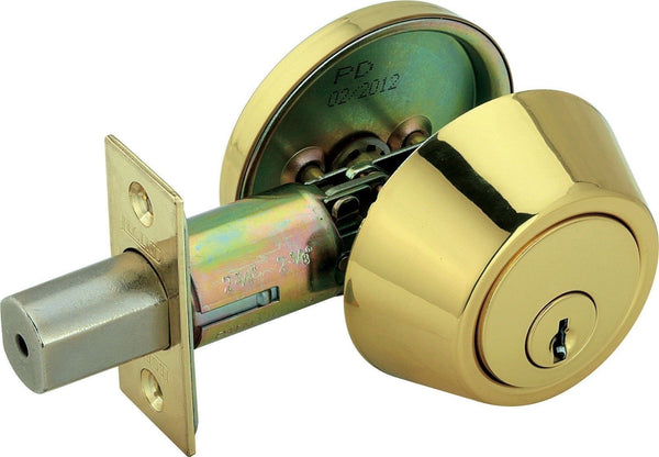 281 Hdpb SINGLE CYLINDER HEAVY DUTY KEYED DEADBOLT - Fresh Colony