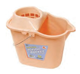 12 Quart Bucket with Wringer - Color May Vary - Fresh Colony