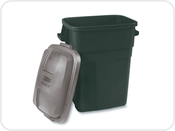 Rubbermaid Home Products-30-Gal. Refuse Containeremerald Gre-2979 - Fresh Colony