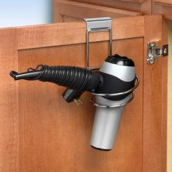 Spectrum MyBella Over the Cabinet Door Folding Dryer Holder, Chrome - Fresh Colony