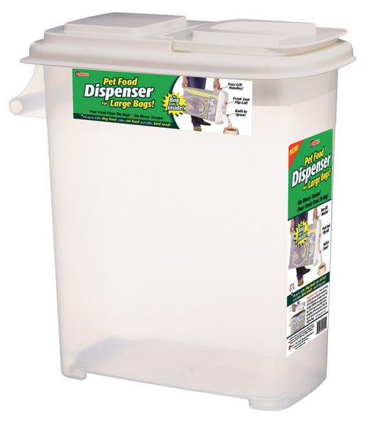 Buddeez 32-Quart Dispenser for Pet Food and Bird Seed, X-Large - Fresh Colony