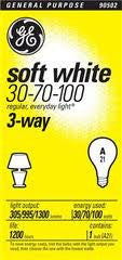 3 Way Incandescent Light Bulb - Fresh Colony