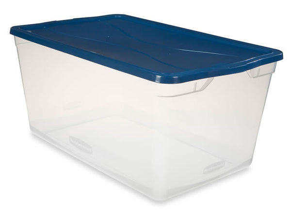 Rubbermaid Storage Container, 30-Quart - Fresh Colony