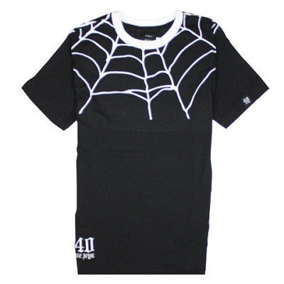 40 OZ - NYC SPIDER WEB TEE - Fresh Colony  - 1