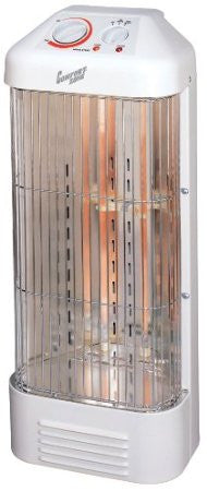 Comfort Zone® Fan-Forced Quartz Heater CZQTV8 - Fresh Colony