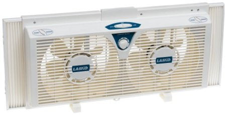 Lasko 2138 8-Inch Electrically Reversible Twin Window Fan - Fresh Colony