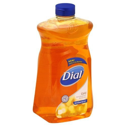 Dial Gold Antibacterial Hand Soap with Moisturizer, 52 Oz Refill - Fresh Colony