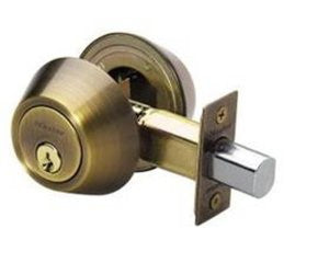 Master Lock DSO0705 Double Cylinder Deadbolt with SilvaBond Antimicrobial Finish, Antique Brass - Fresh Colony