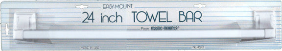 24 INCH TOWEL BAR 1PK WHI - Fresh Colony