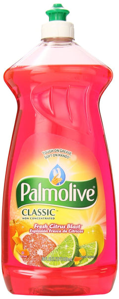 Palmolive Dish Liquid, Fresh Citrus Blast, 28 Ounce - Fresh Colony