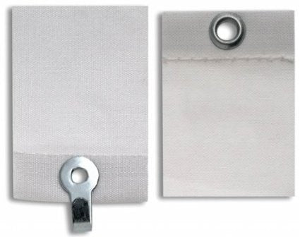 Ook/Impex Systems Group 50085 3-Piece Adhesive Picture Hanger with Eyelets - Quantity 1 - Fresh Colony
