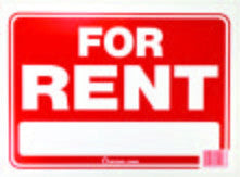 FOR RENT SIGN - Fresh Colony