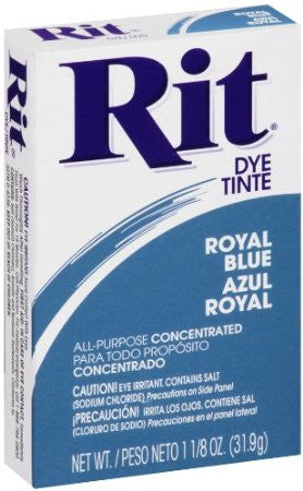 Rit Powder Dye Royal Blue  1.125 Ounces - Fresh Colony
