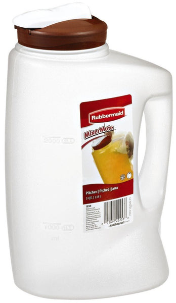 Rubbermaid 7E59RDCHILI MixerMate Pitchers--3 QT - Fresh Colony