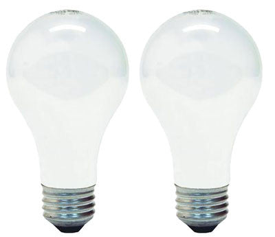 75 WATT A19 INSIDE FROST MEDIUM BASE 4 PKG LIGHT BULB - Fresh Colony