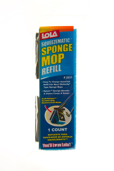 Lola  2031 Squeeze-Matic Sponge Mop Refill - Fresh Colony
