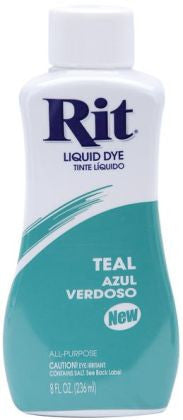 Rit Dye Liquid Fabric Dye, 8-Ounce, Teal - Fresh Colony