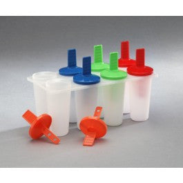 1 X Plastic Popsicle Maker (Makes 8 Pops) - Fresh Colony