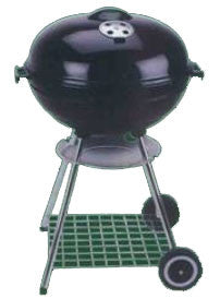 "17"" Kettle Charcoal Barbeque Grill - Fresh Colony"