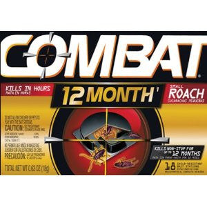 Combat 12 Month Roach Bait, Small ( 54 Count) - Fresh Colony