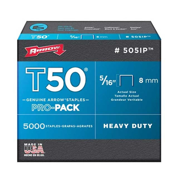 "5/16"" Staples For Model T-50 (1,250) - Fresh Colony"