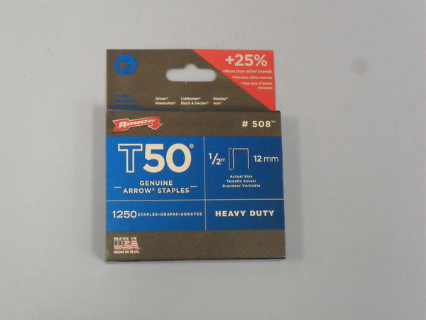 "1/2"" Staples For Model T-50 (1,250) - Fresh Colony"