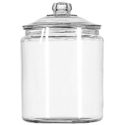 Anchor Hocking 2-Gallon Heritage Hill Jar with Glass Lid - Fresh Colony